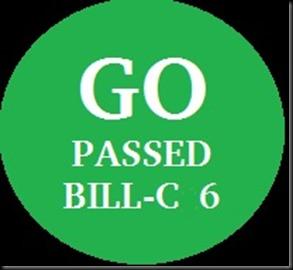 Passed Bill C-6