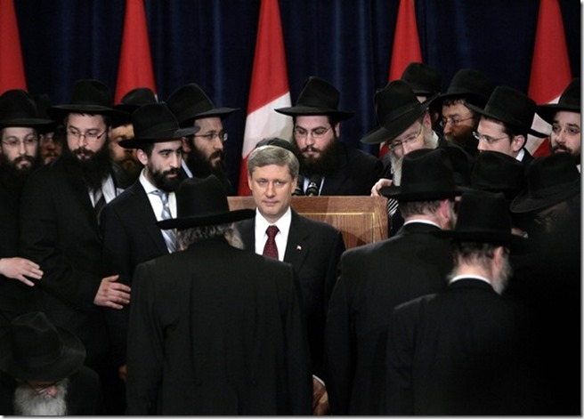 Crypto Jew Stephen Harper