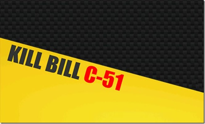 Kill Bill C-51